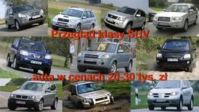 Którego SUV-a warto kupić za 20-30 tys. zł?