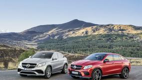 Mercedes GLE Coupé - nowa gwiazda