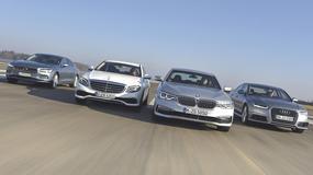 Superoszczędne limuzyny - Volvo S90 kontra Mercedes E 220d, BMW 520d i Audi A6 2.0 TDI