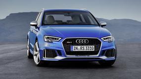 Audi RS 3 Sportback - mocniejszy silnik i ostrzejszy wygląd