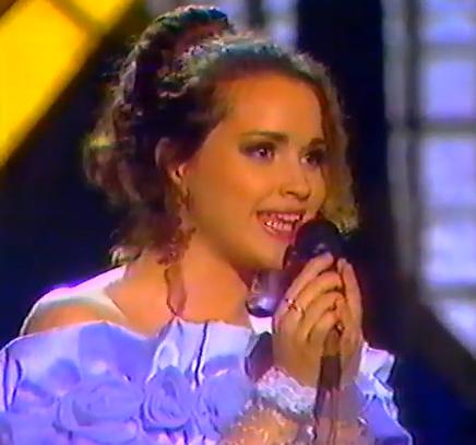 Maja Nikolić na početku karijere