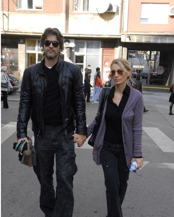 Ana Stanić sa suprugom
