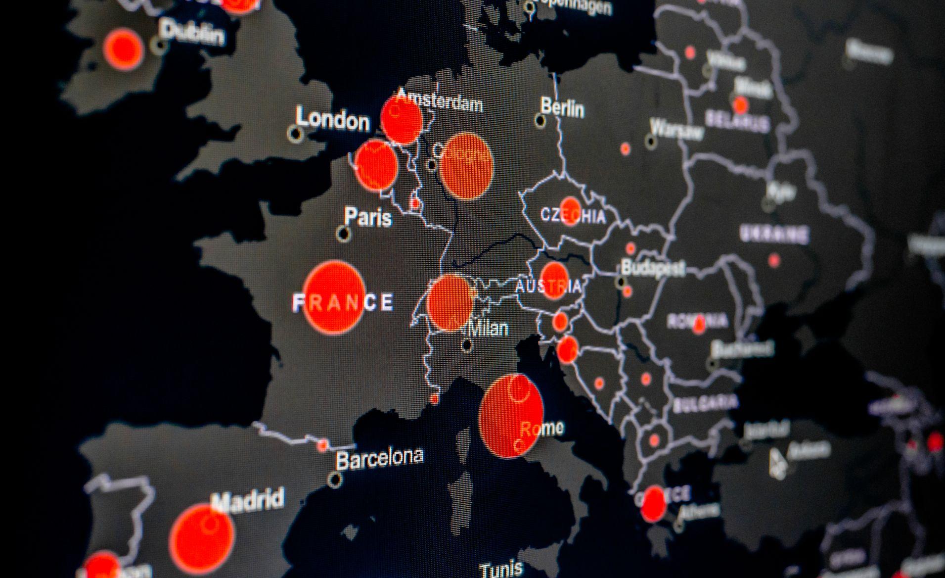 Polska Mapa Koronawirusa W Sieci Tak Covid 19 Rozprzestrzenia