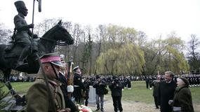 Odsłonięcie pomnika Tatara w Gdańsku