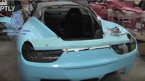 Nielegalna fabryka Lamborghini i Ferrari w Hiszpanii