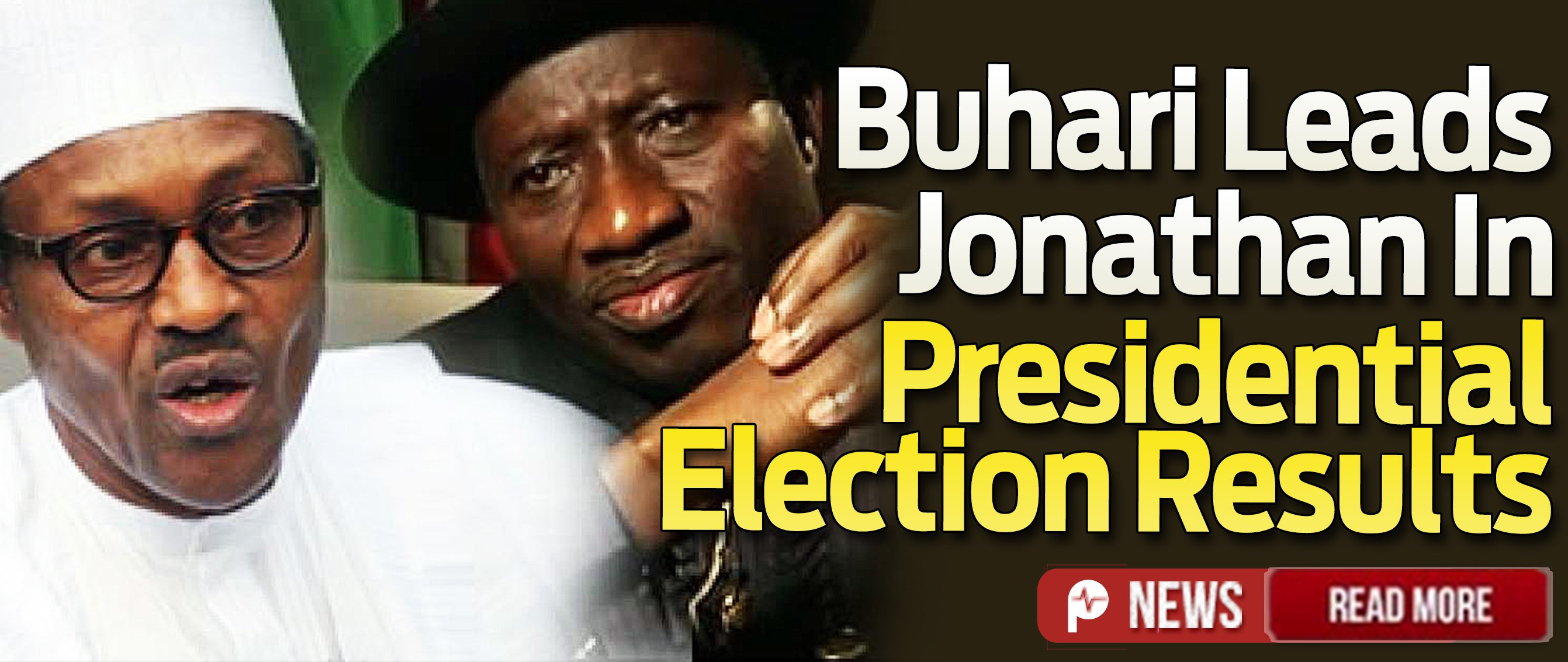 Nigeria presidential elections inec announce results buhari in the lead pulse nigeria