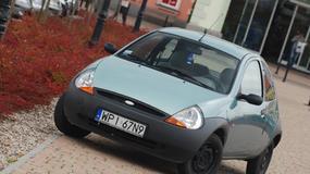 Ford KA 1.3 - Korodujący ekscentryk