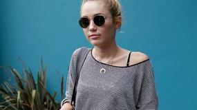 Nowy tatuaż i podejrzane blizny Miley Cyrus