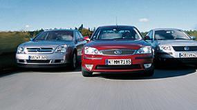 Opel Vectra, Ford Mondeo, VW Passat - Trzy pomysły na  rodzinnego sedana z dieslem