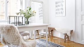 Jak urządzić przytulne mieszkanie w bieli? Dom Svenji to najlepsza inspiracja