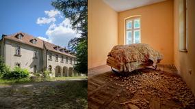 Opuszczony szpital dziecięcy w Kowanówku