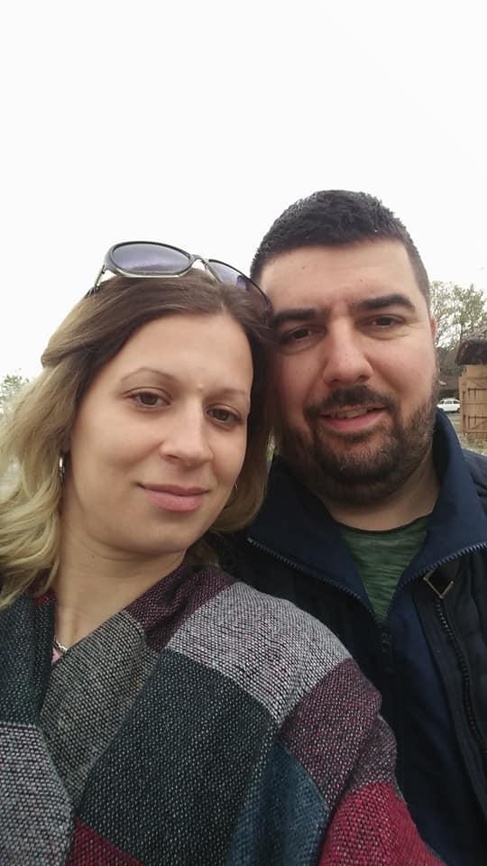 Predrag sa suprugom Marijom