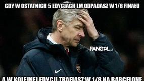 Memy po losowaniu 1/8 finału Ligi Mistrzów