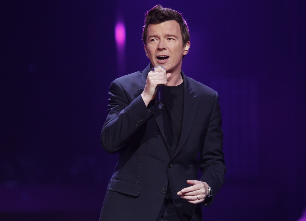 Rick Astley na festiwalu Sopot TOP OF THE TOP