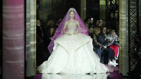 Najpiękniejsze suknie ślubne z pokazów haute couture wiosna- lato 2017