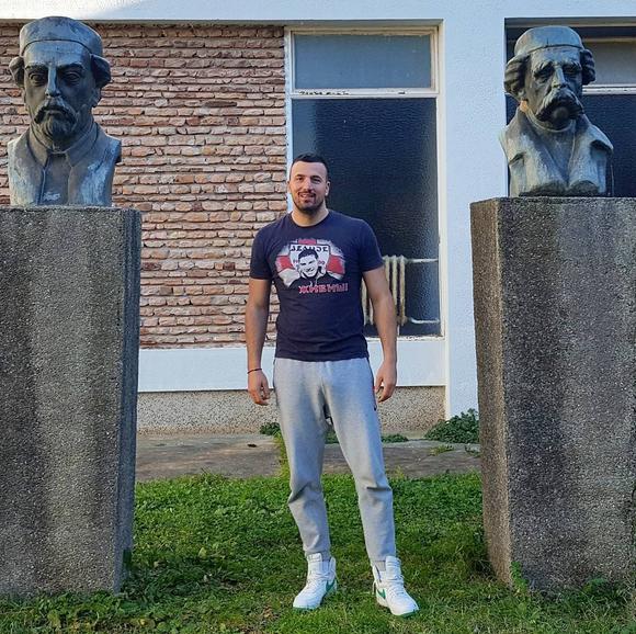 Vladimir Tomović danas
