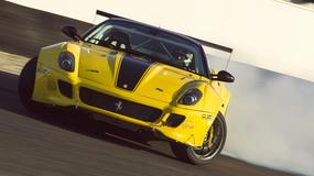 Ferrari 599 – driftowóz o mocy 920 KM