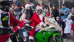 Wielka parada Mikołajów w Trójmieście. Ryk silników, barwne postaci i pieniądze dla potrzebujących dzieci