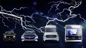 Mercedes-Benz: ponad 10 różnych pojazdów z napędem całkowicie elektrycznym do 2022 roku