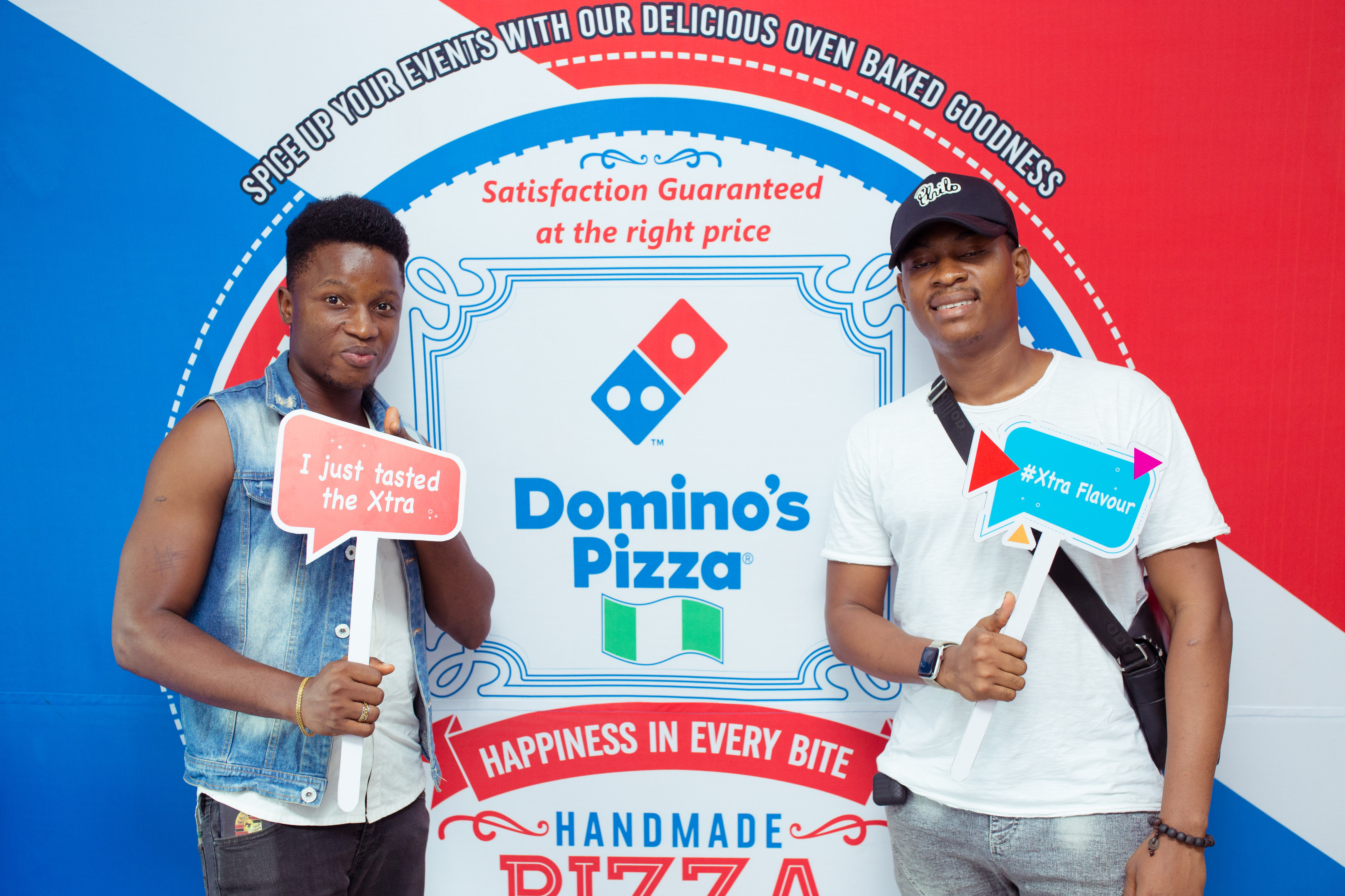 How 'Xtra' can you go? The new Dominos Pizza menu will leave