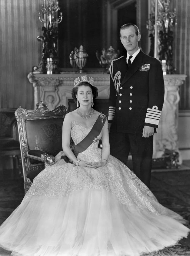 Kraljica Elizabeta II i princ Filip 1956 godine