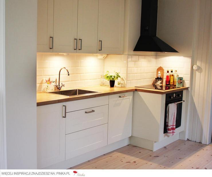 Biała kuchnia  najmodniejsza w Polsce  Dom -> Castorama Kuchnia City Biala