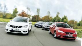 Hyundai i30 kontra Nissan Pulsar, Renault Megane, Seat Leon - Nissan wraca do klasy kompaktów
