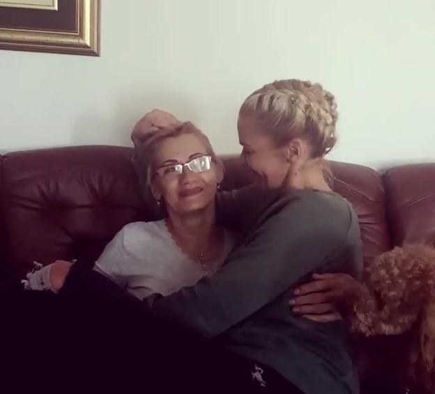 Nataša sa mamom Mirom