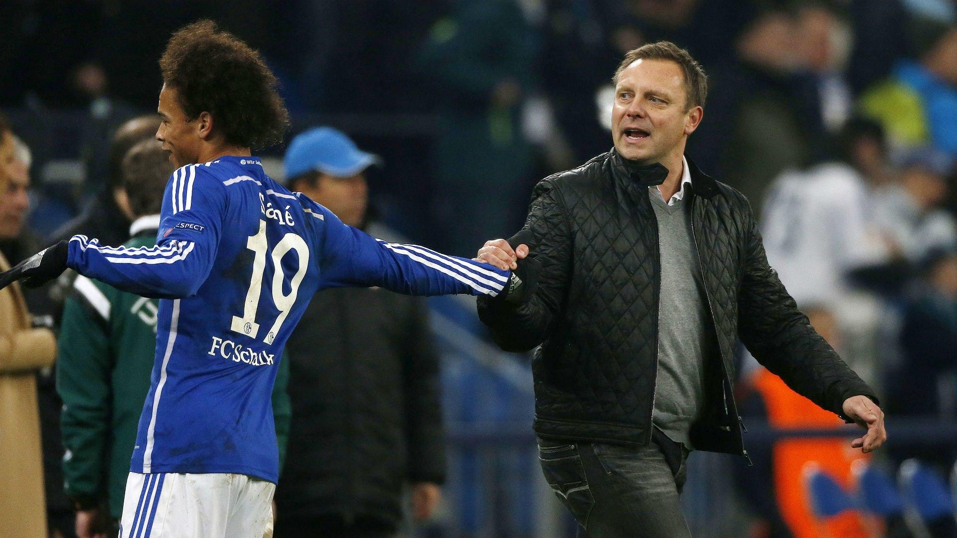 Andre Breitenreiter Schalke: Andre Breitenreiter on Leroy Sane ...