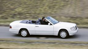 Mercedes 124 cabrio - kabriolet na cztery pory roku