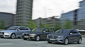 Audi A3 kontra BMW serii 1 i Mercedes klasy A: porównanie kompaktów klasy premium