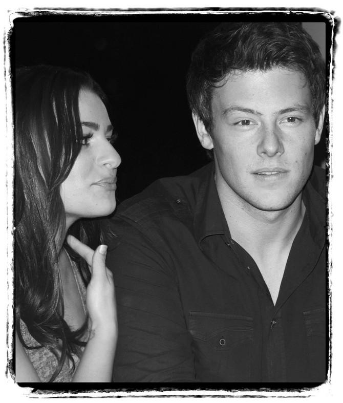 Lea i Kori fotografisani 2009. godine