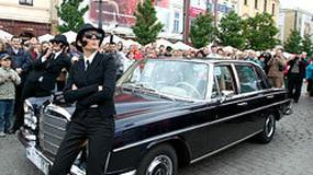 Mercedes: gwiazdy zdobyły krakowski rynek