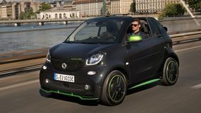 Smart Fortwo Cabrio Electric – Wyprzedza czas   Pierwsza jazda