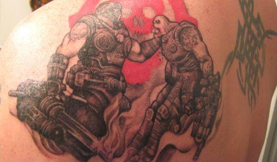 Miłość Niejedno Ma Imię Czyli Tatuaż Z Gears Of War