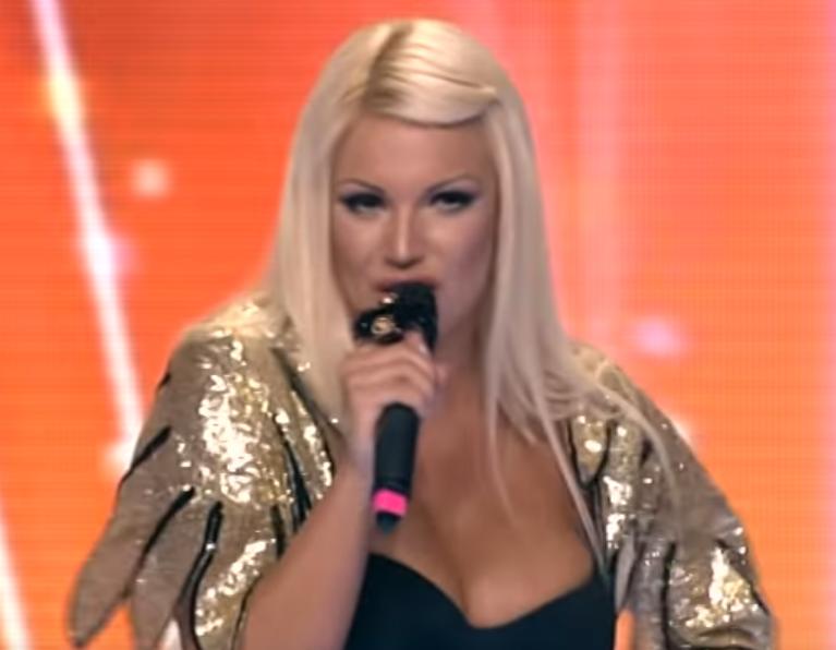 Dunja Popović u takmičenju
