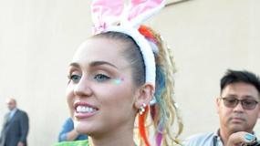 Miley Cyrus w króliczych uszach