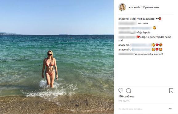 Ana izgleda fenomenalno u bikiniju
