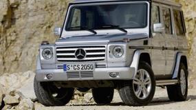 Mercedes Klasy G - Co najmniej do 2015
