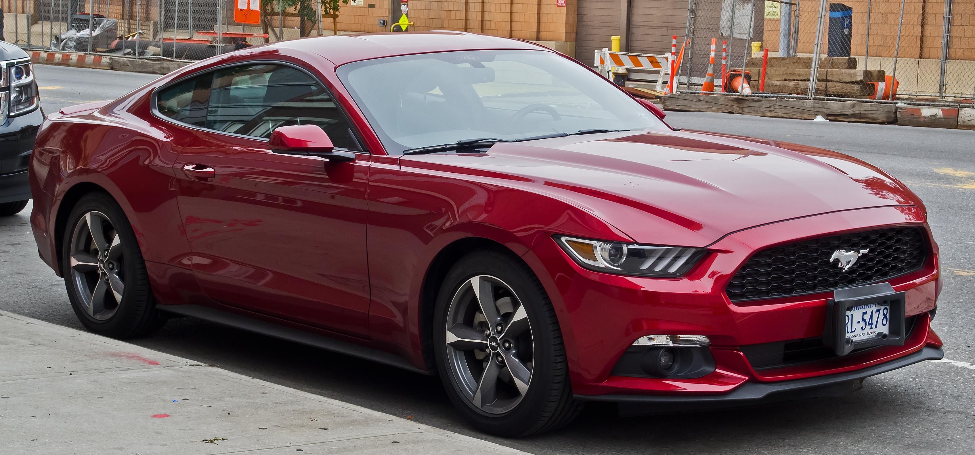 Ford Mustang VI 2014 recenzje i testy opinie zdjęcia i dane