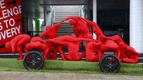 Human Car Hondy w Goodwood, to połączenie człowieka i maszyny