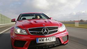 Test Mercedesa C63 AMG Black Series: czarny charakter w akcji