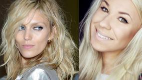 Minimalistyczny makijaż w stylu Anji Rubik