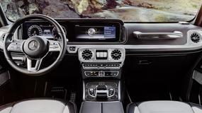 Mercedes klasy G: kultowa terenówka z nowym wnętrzem