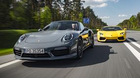 [DUŻA FORMA] Lambo Aventador Coupé vs. Porsche 911 Turbo S Cabrio
