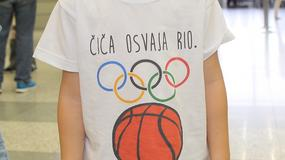 POGLEDAJTE ISPRAĆAJ KOŠARKAŠA Čiji čiča osvaja Rio, a ko se jedva odvojio od devojke