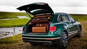 Bentleya Bentayga - dzieło sztuki w bagażniku