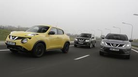 Crossovery Nissana - duży, średni i mały: Który jest dla kogo?