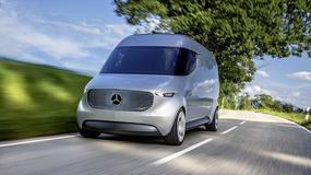 Mercedes Vision Van: dostawczak XXII wieku