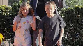 Angelina Jolie z dziećmi - najnowsze zdjęcia!